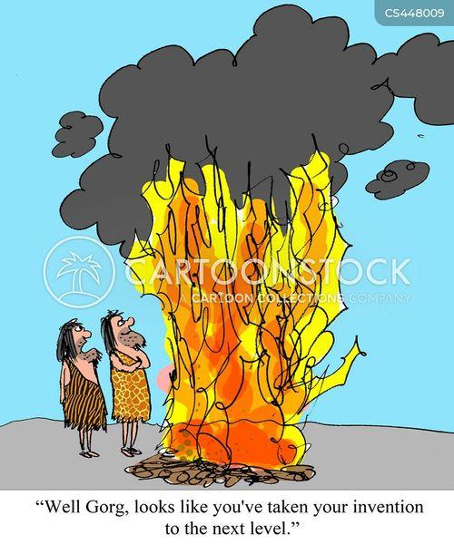 wildfire cartoon