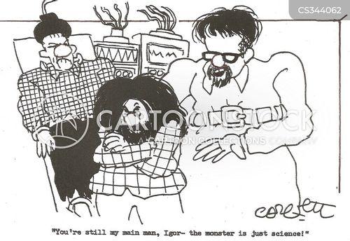main man cartoon