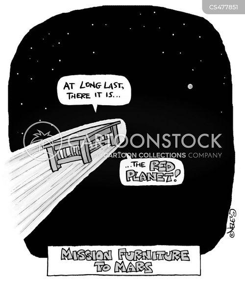 red planet cartoon