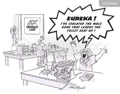 genomes cartoon