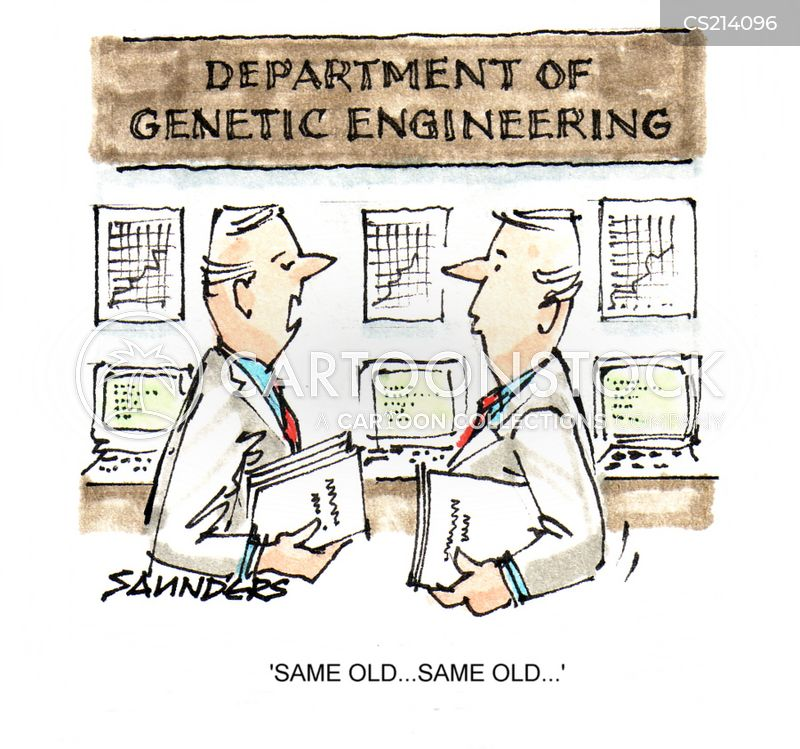 genetically engineered cartoon