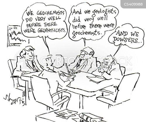 dowsers cartoon