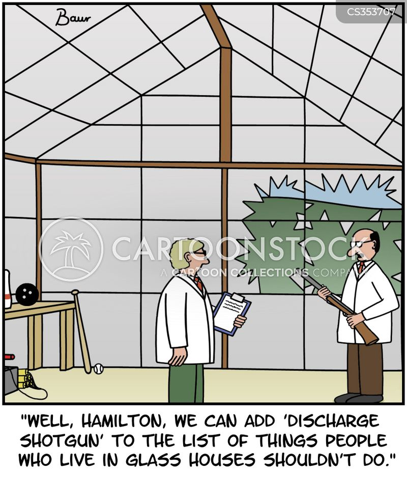 greenhouses cartoon