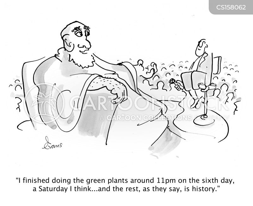 pseudo-science cartoon