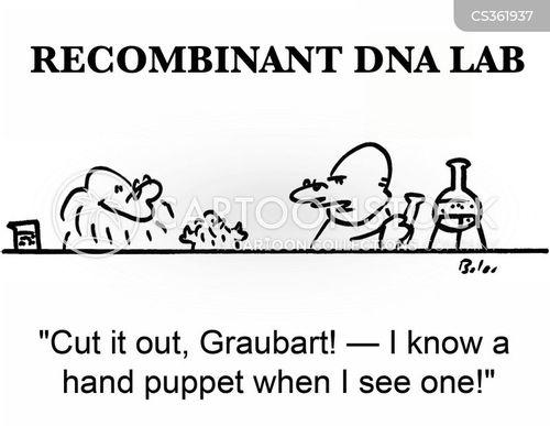 glove puppet cartoon