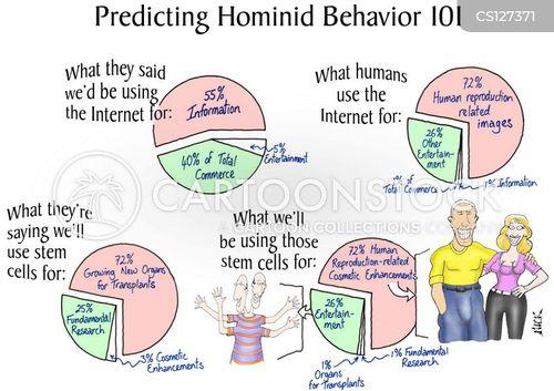 hominid cartoon
