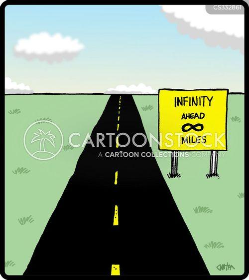 infinity signs cartoon