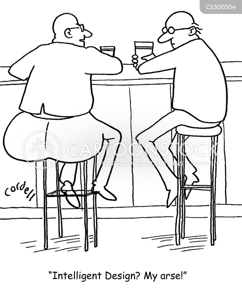 arse cartoon