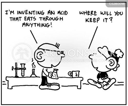acidic cartoon
