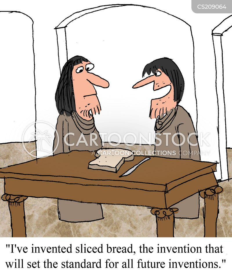 Bread Loaves Cartoons And Comics Funny Pictures From Cartoonstock