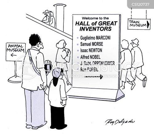 hall of fame cartoon