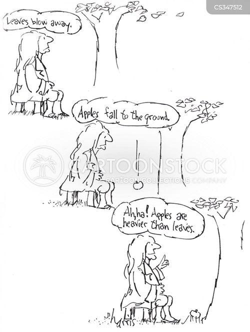 apple trees cartoon