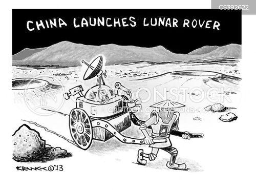 moon rover cartoon