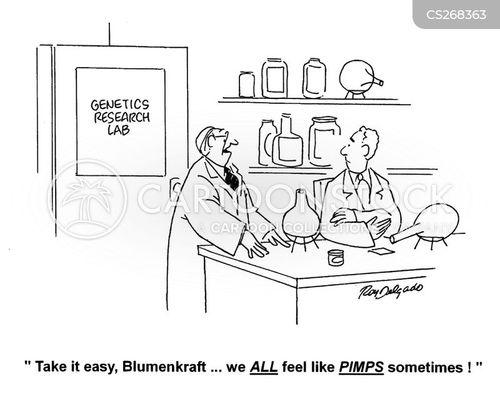 pimps cartoon