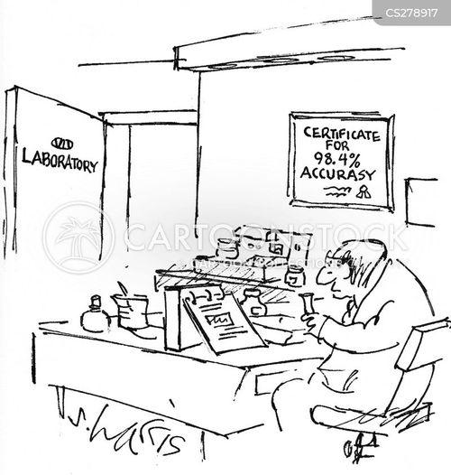 Physics Lab Experiments Lab Experiment Cartoon 2 of 2