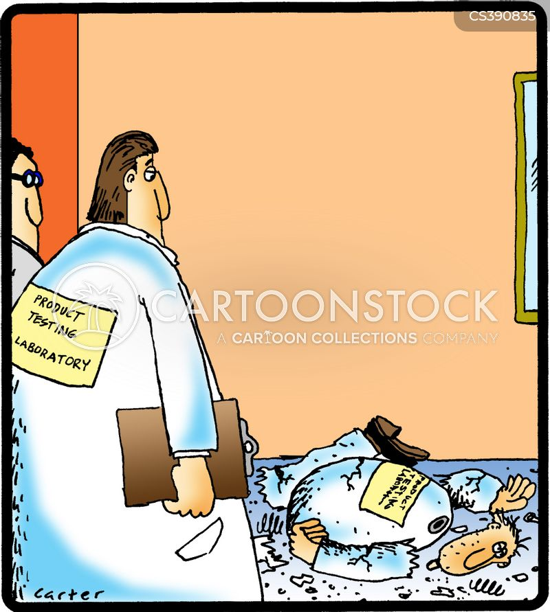 laboratory accident cartoon
