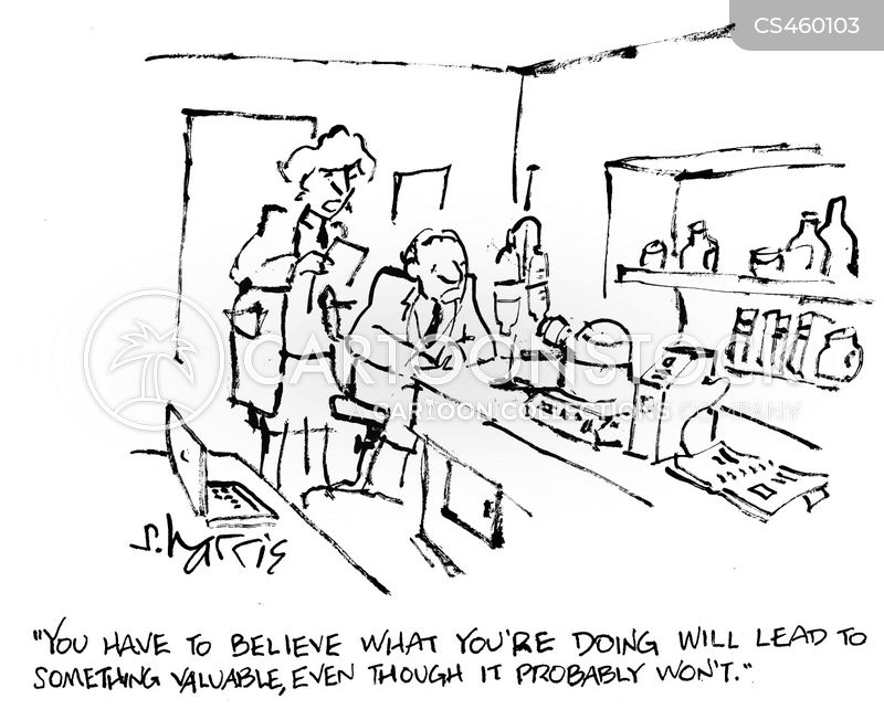 lab techs cartoon