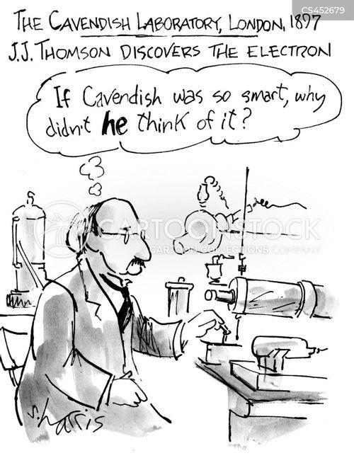 electron cartoon