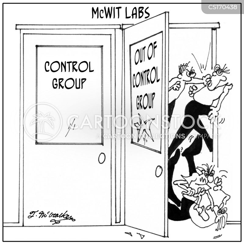 control groups cartoon