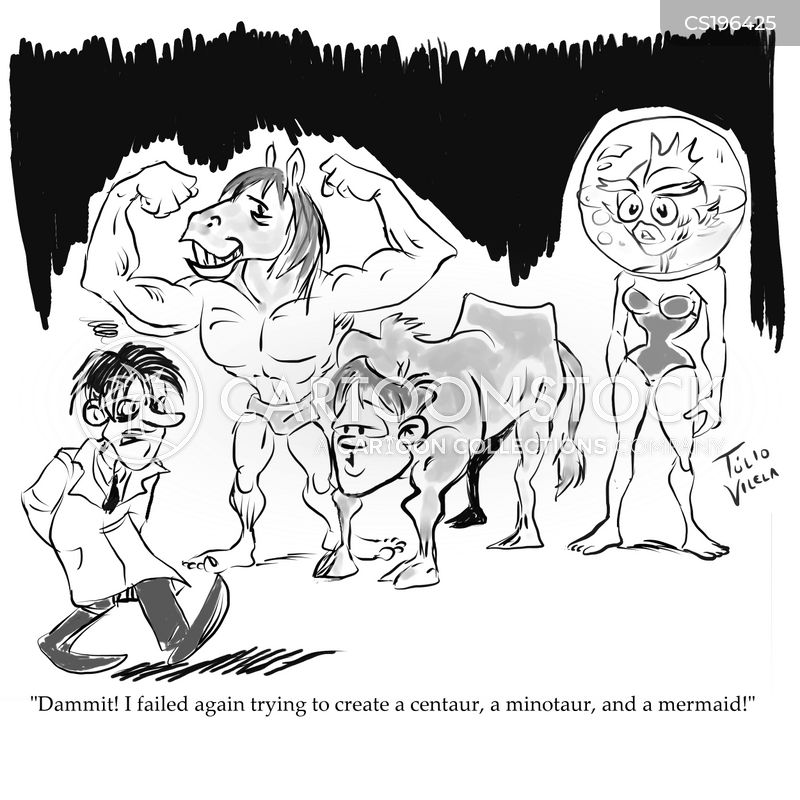 minotaur cartoon