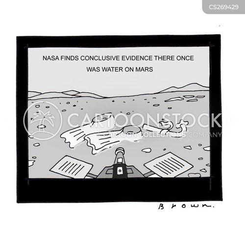 conclude cartoon