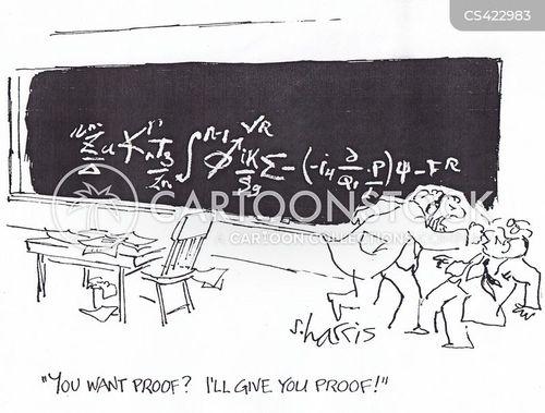 scientific proof cartoon
