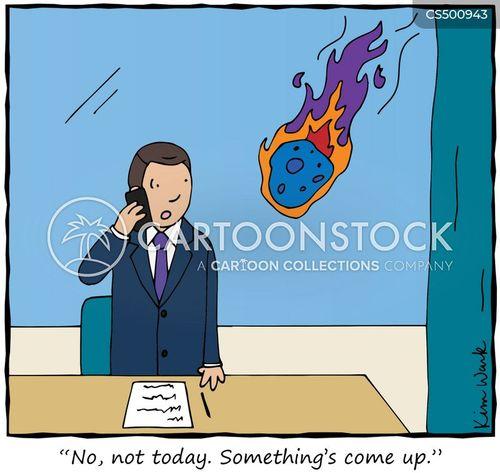 postpones cartoon