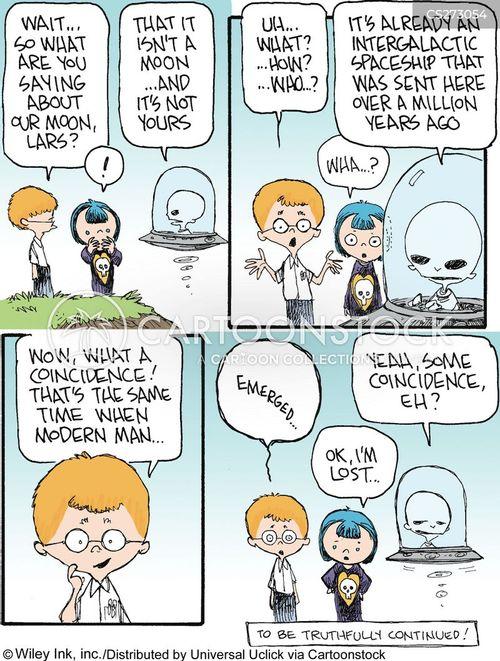 origin of life cartoon