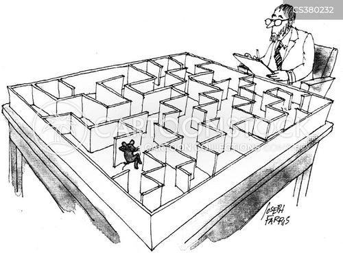scientific experiment cartoon