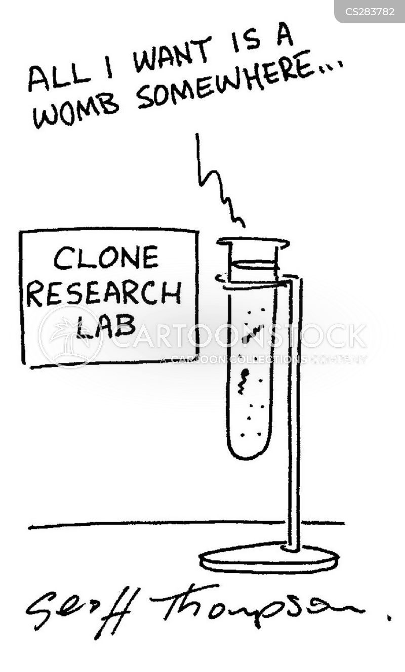 test tubes cartoon