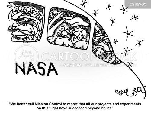mission control cartoon
