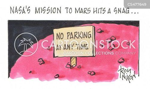 mars mission cartoon