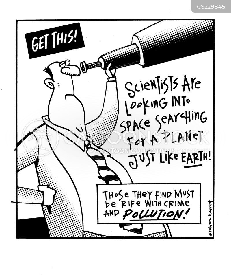 new planet cartoon