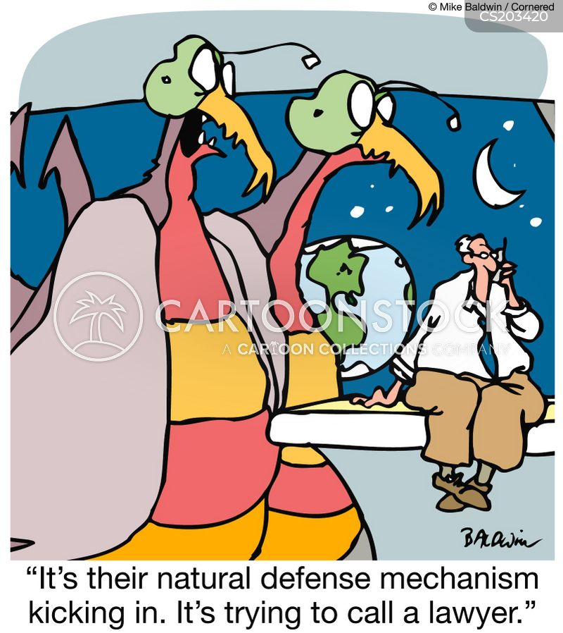 Defense Mechanisms Cartoons And Comics Funny Pictures From