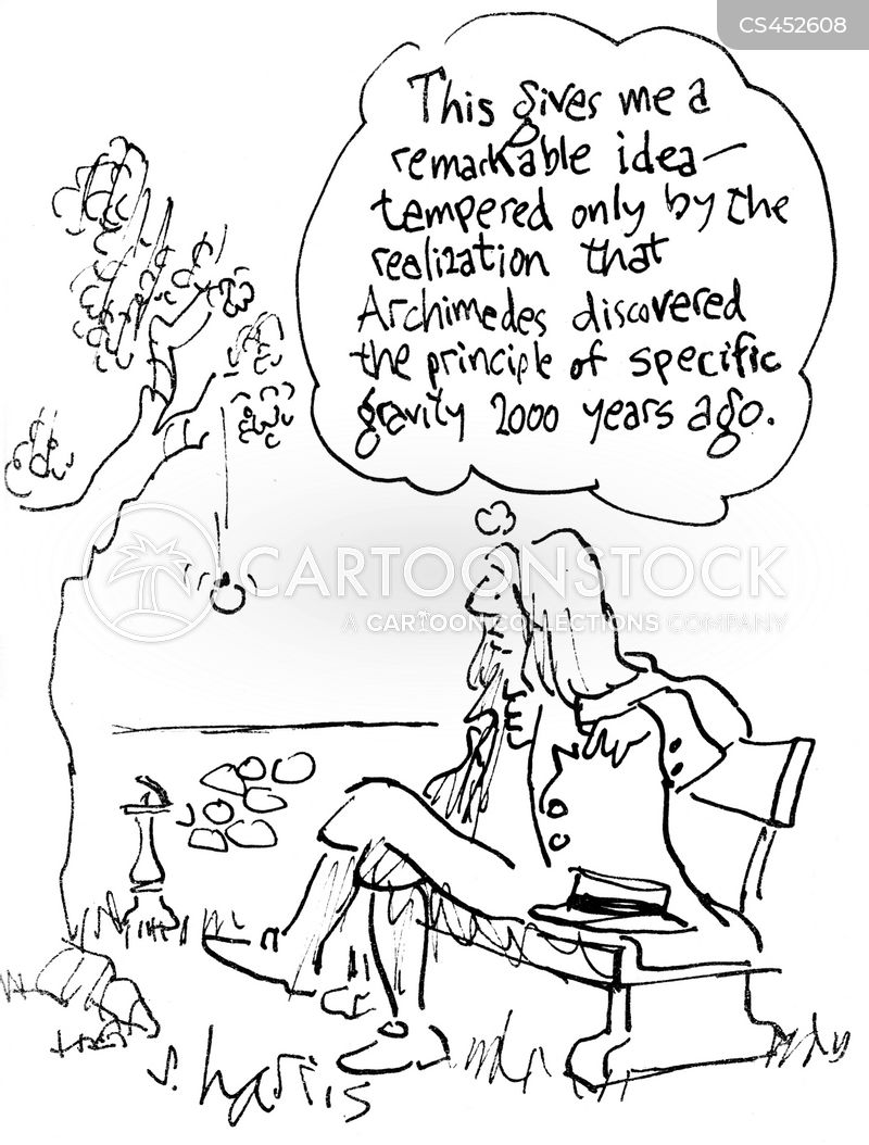 scientific history cartoon