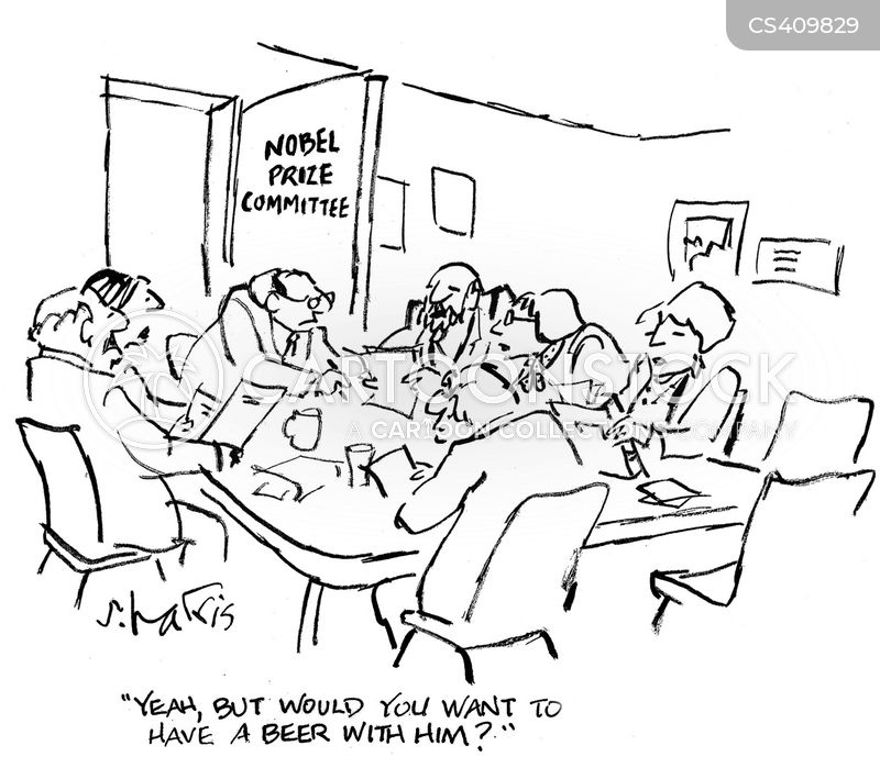 nobel committees cartoon