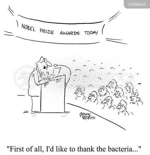 nobel prize winner cartoon