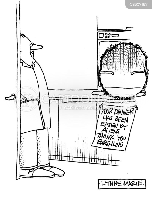 thank you note cartoon