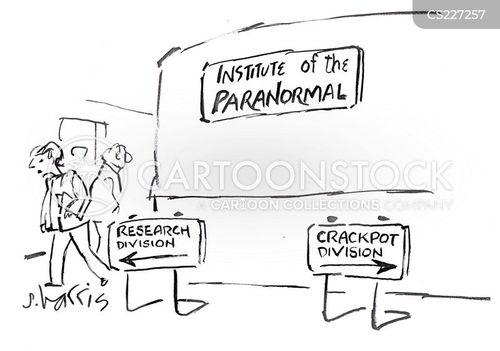 paranormal evens cartoon