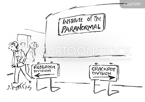 crackpot cartoon