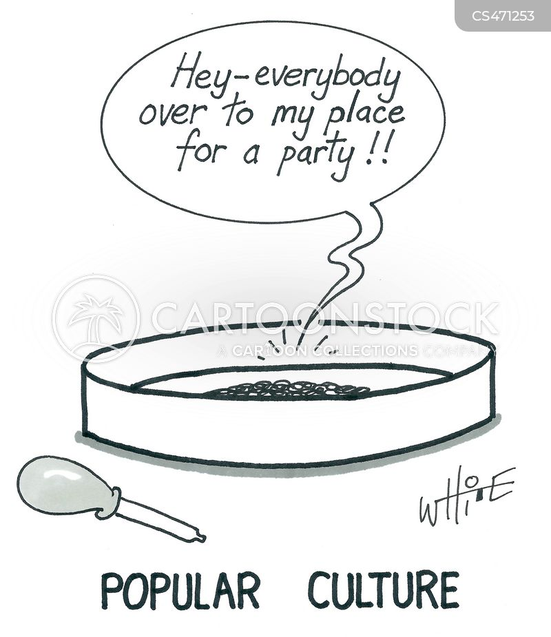 petri dish cartoon