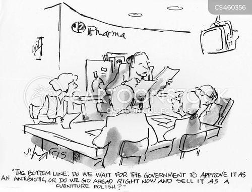 antibiotic cartoon