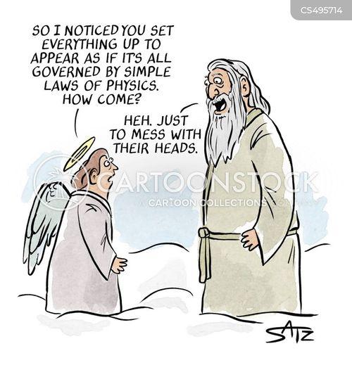 test of faith cartoon