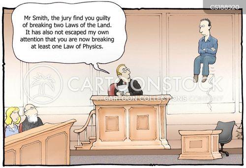 law of physics cartoon