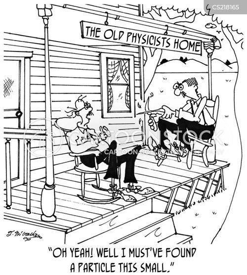 elderly homes cartoon