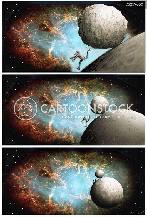 satellite photos cartoon