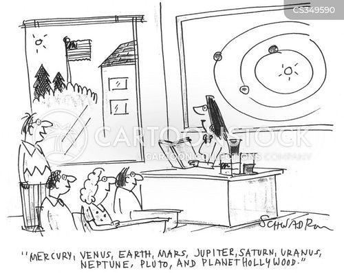 solar cartoon