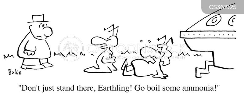 earthing cartoon