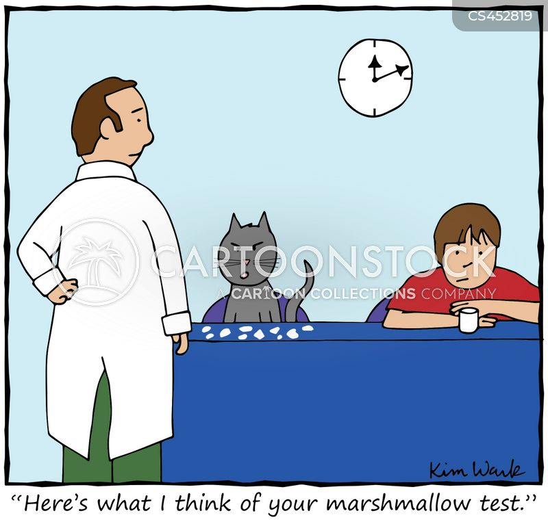 marshmallow cartoon