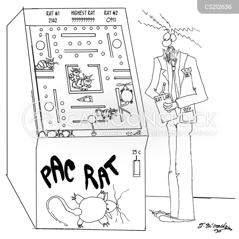 video arcade cartoon